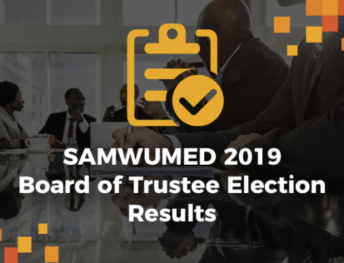 REPORT ON THE FINAL RESULTS OF THE SAMWUMED 2019 TRUSTEES ELECTION